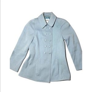 Lagerfeld Powder Blue Princess Sleve Coat vintage